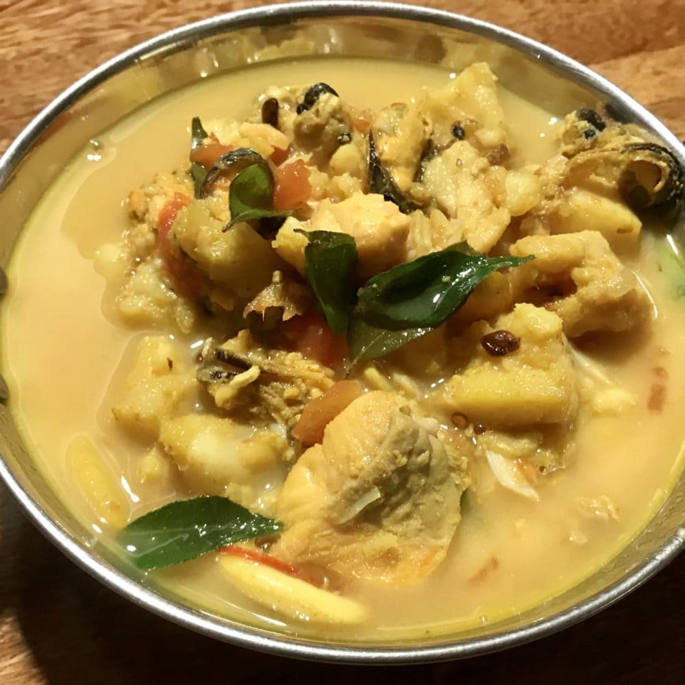 An easy recipe for the classic Kerala fish curry from South